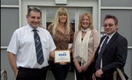ABB team (l to r) Les Slocombe, Gabby Weaver, Susan Sierakowski and Neville Childs.