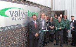 Official opening of new Valveforce facility