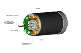 Figure 1: Typical BLDC motor