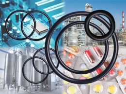High performance DuPont� Kalrez� O-ring seals available from Dichtomatik Ltd, for use with aggressive chemicals in a wide range of industrial applications covering the measurement and flow control of gases and liquids.