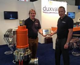 Harry Pomp, MD Duxvalves B.V. and Dominic Clarke, Duxvalves UK