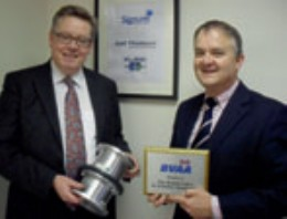 Phil Clifton (left) and Jeff Vile of Signum Group, incorporating Gall