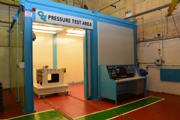 CTL�s newly launched Pressure Testing Facility has a pressure rating of 22,500psi