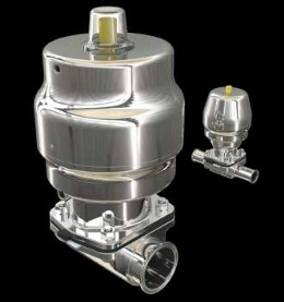 Saunders' range of S360 actuators has been expanded to accommodate valve sizes from ¼˝ (DN8) up to 4˝ (DN100)