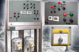 The stainless steel electronic panel conforms to Zone 1 Ex de classification and protection class IP66