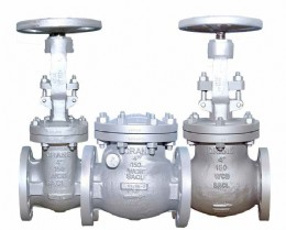 The new line of cast steel valves has several improved features