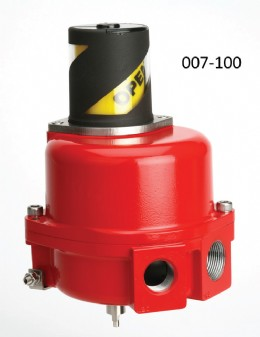 K Controls position monitor in coated aluminium