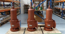 Safety Valves in Stock at Flowstar�s Hull Facility