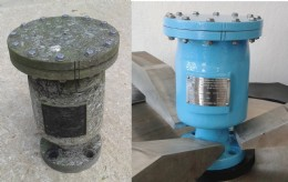 A breather valve, pre and post service