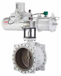 Rotork Skilmatic SI/EH electro-hydraulic actuators operating triple-offset butterfly valves are the standard for critical ROSOV applications at India's tank farms.