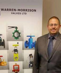 Warren-Morrison Valves Ltd Announce New Valve sales Engineer!