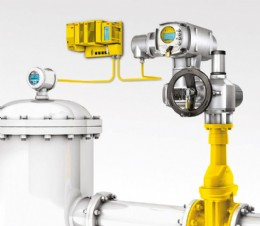 AUMA electric actuators, as pictured, support functional safety systems up to SIL 3.