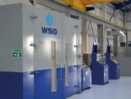 Some of the WSG test facilities