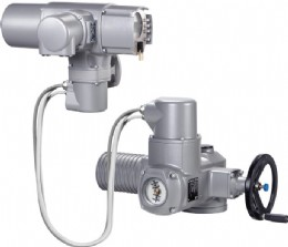 AUMA's ability to mount controls separately from the motor and gearbox allows flexibility in installation to avoid confined space or hazardous area working