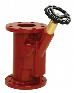 LK Valves new design straight patterns storm valve