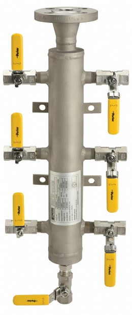Parker extends distribution manifold range to meet