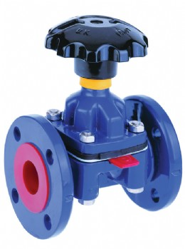Saunders� on/off industrial diaphragm valve