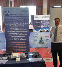 Photos: Moontown exhibiting at the BVAA Supplier Day 2016 & 2017