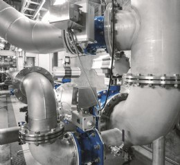 Pneumatic actuators have a clear advantage compared to electric actuators in cramped installation spaces