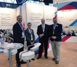 Pictured at Fluid Power & Systems 2016 are,