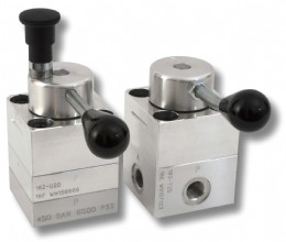 Webtec�s 180 and 280 series of aluminium and stainless steel zero-leak hydraulic rotary control valves