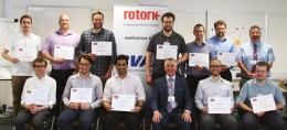 Cohort 2 with Dr Martin Haigh MBE (Photo courtesy of Lattitude7)