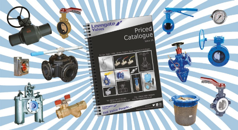 Leengate Valves Issue 16 Catalogue includes even more new products