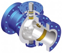 The WKM 370D6 trunnion-mounted ball valves are designed and engineering for heavy-duty performance in general purpose petroleum and chemical process applications. (Courtesy of Schlumberger)