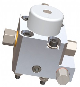Webtec's J1939 sensors measure hydraulic flow, temperature & pressure