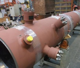 Figure 1: The HP Final desuperheater or attemperator, pictured above, is the critical thermal component that is affected most with stable and changing unit loads in combined cycle power plant operations.