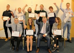 Presentation Skills held at Severn Unival, Brighouse delivered by Dr Martin Haigh, MBE