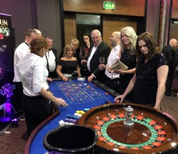 Evening entertainment Charity Casino