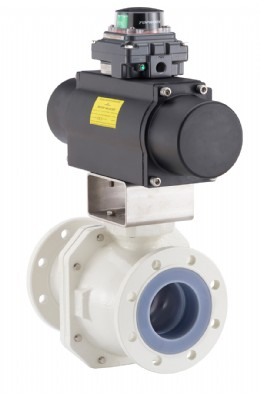 Emerson�s Neotecha NXR lined ball valve is fugitive-emissions certified and designed to endure corrosive and toxic media