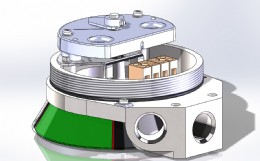 Independent Valve Transmitter based on Solid State Position Measurement and Equipped with User Friendly Pushbuttons for Calibration