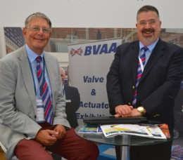 (L-R) BVAA�s Technical Consultant, Martin Greenhalgh and CEO Rob Bartlett