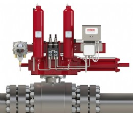 Rotork GO actuator fitted with ELB as supplied to the Chinese