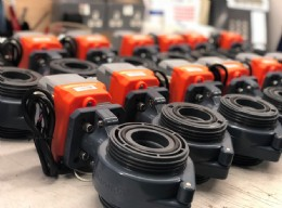 Actuated valves for EU OEM