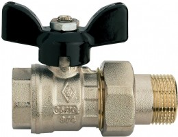 Brass Union Ended Ball Valves