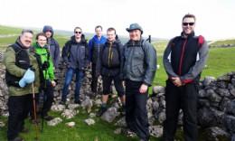 BVAA Future Leaders, cohort 2, bracing the weather