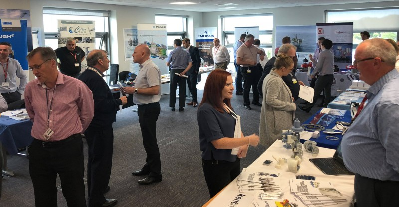 Visitors at the Worley Parsons Event in Aberdeen