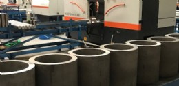 Large diameter hollow bars destined for pump and valve manufacture