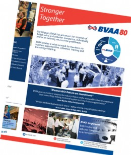 BVAA�s New �Stronger Together� Leaflet