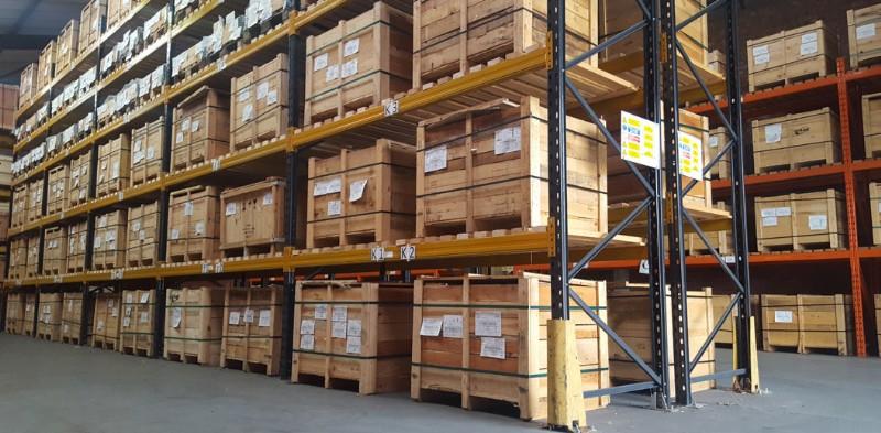 Stock at Mildenhall Warehouse