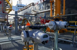 Generations of Rotork actuators controlling critical jetty product transfer operations in the Netherlands