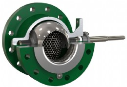 The Fisher Cavitrol Hex trim option provides improved performance in severe service applications while maintaining valve efficiency, resulting in increased safety