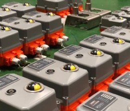 A regular order of 60-110 series actuators ship out