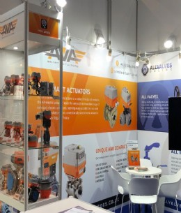 AVA took centre stage at this year's Valve World stand