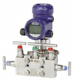 Integrated valve & measuring instrument