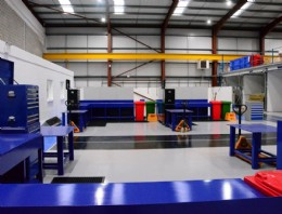 Inside our newly completed workshop with increased capacity and enhanced valve services