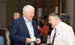 Rob Bartlett (right) with Dave Martin (*'It's obvious he knows pretty much everything there is to know about valves')